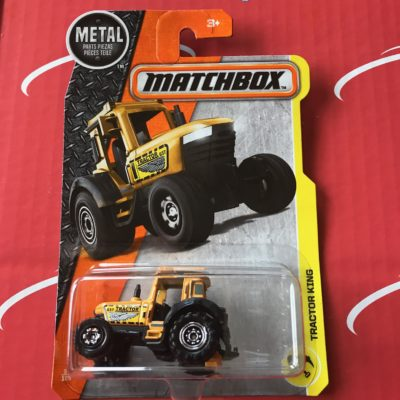 Tractor King #37 2017 Matchbox Case L