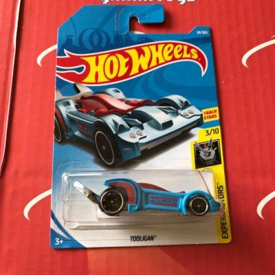 Tooligan #24 Blue 2018 Hot Wheels Case B