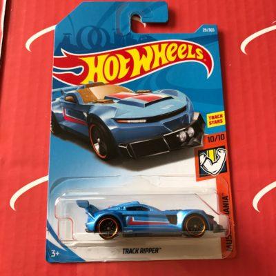 Track Ripper #29 Blue 2018 Hot Wheels Case B