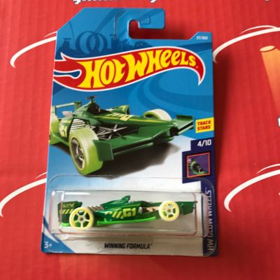 Winning Formula #37 Green 2018 Hot Wheels Case B