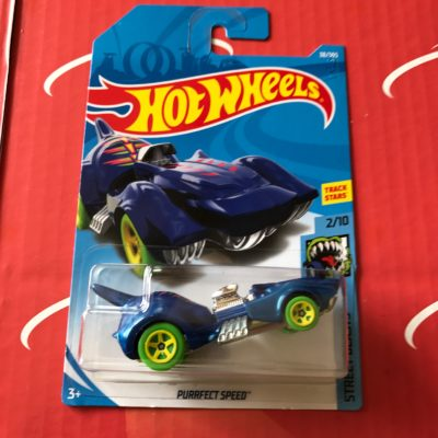 Purrfect Speed #38 Blue 2018 Hot Wheels Case B