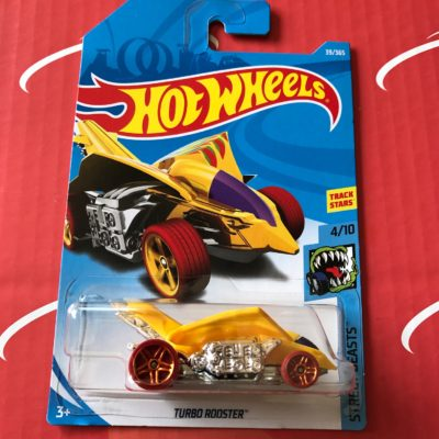 Turbo Rooster #39 Yellow 2018 Hot Wheels Case B