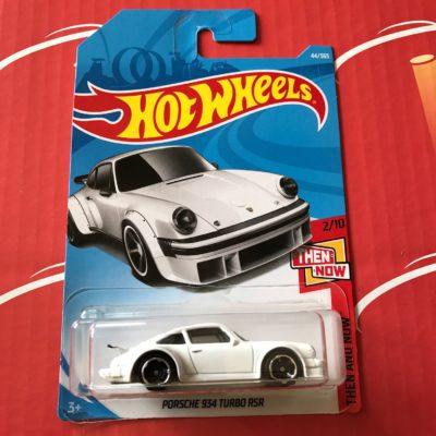 Porsche 934 Turbo RSR #44 White 2018 Hot Wheels Case B
