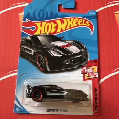 Corvette C7 Z06 #48 Black 2018 Hot Wheels Case B