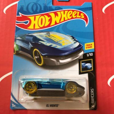 El Viento Blue Treasure Hunt 2018 Hot Wheels Case B