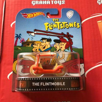 The Flintmobile 2017 Hot Wheels Retro Entertainment Mix D