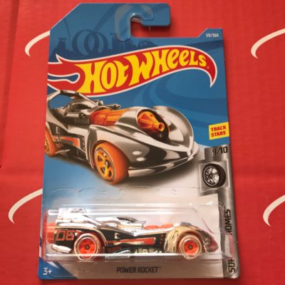 Power Rocket #59 Super Chromes 2018 Hot Wheels Case C