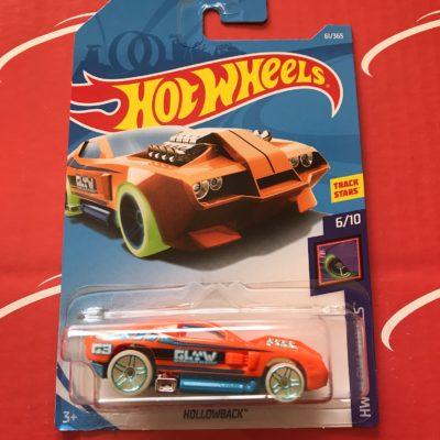 Hollowback #61 Orange 2018 Hot Wheels Case C