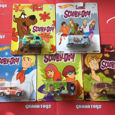 2017 Pop Culture 6 car Full set Set Mix M Scooby Doo!