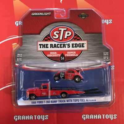 1968 Ford F-350 Ramp Truck w Topo STP 2017 Greenlight HD Trucks Series 10