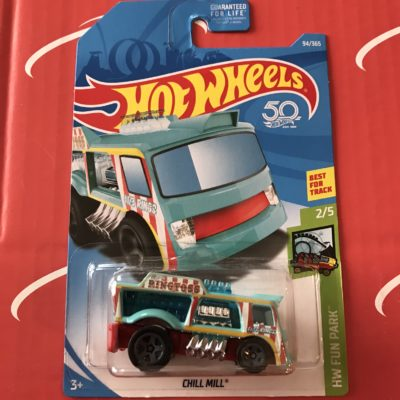 Chill Mill #94 US Card 2018 Hot Wheels Case D