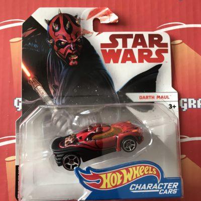 Darth Maul 2018 Hot Wheels Star Wars Character Cars