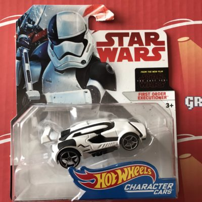 First Order Executioner 2018 Hot Wheels Star Wars Character Cars