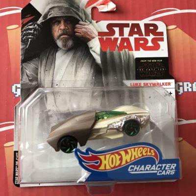 Luke Skywalker Last Jedi 2018 Hot Wheels Star Wars Character Cars