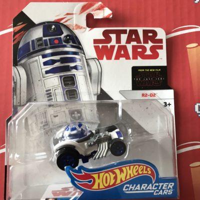 R2-D2 Last Jedi 2018 Hot Wheels Star Wars Character Cars