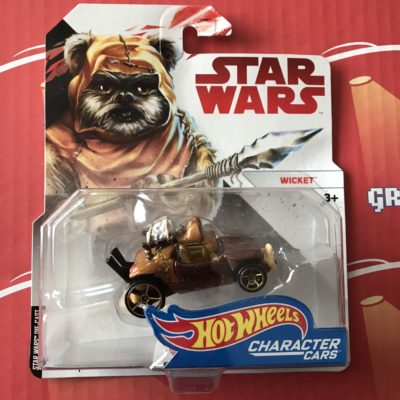 Wicket 2018 Hot Wheels Star Wars Character Cars