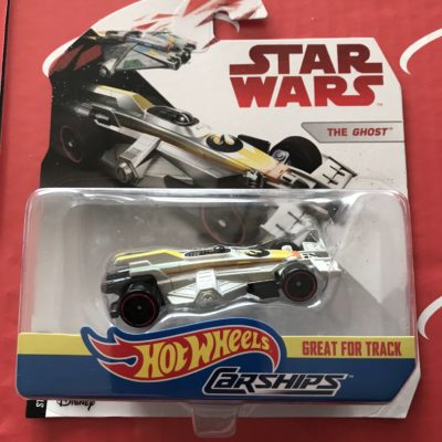 The Ghost 2018 Hot Wheels Star Wars Carships