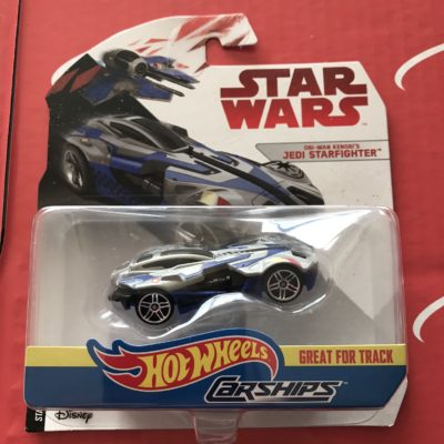 Obi-Wan Kenobi's Jedi Starfighter 2018 Hot Wheels Star Wars Carships