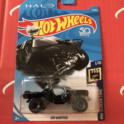 Oni Warthog #54 US Card 2018 Hot Wheels