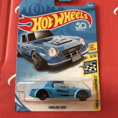 Fairlady 2000 #55 US Card 2018 Hot Wheels