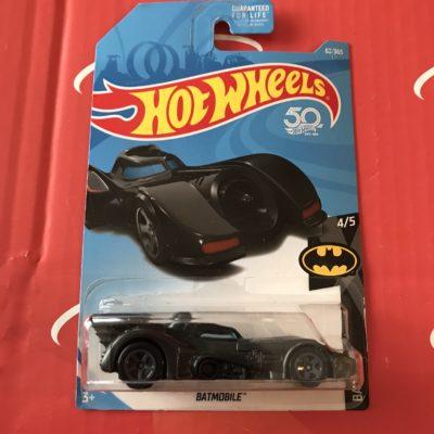 Batmobile #62 US Card 2018 Hot Wheels