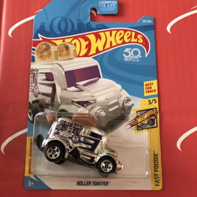 Roller Toaster #69 US Card 2018 Hot Wheels