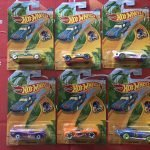 2019 Easter 6 Car Set Hot Wheels Holidays
