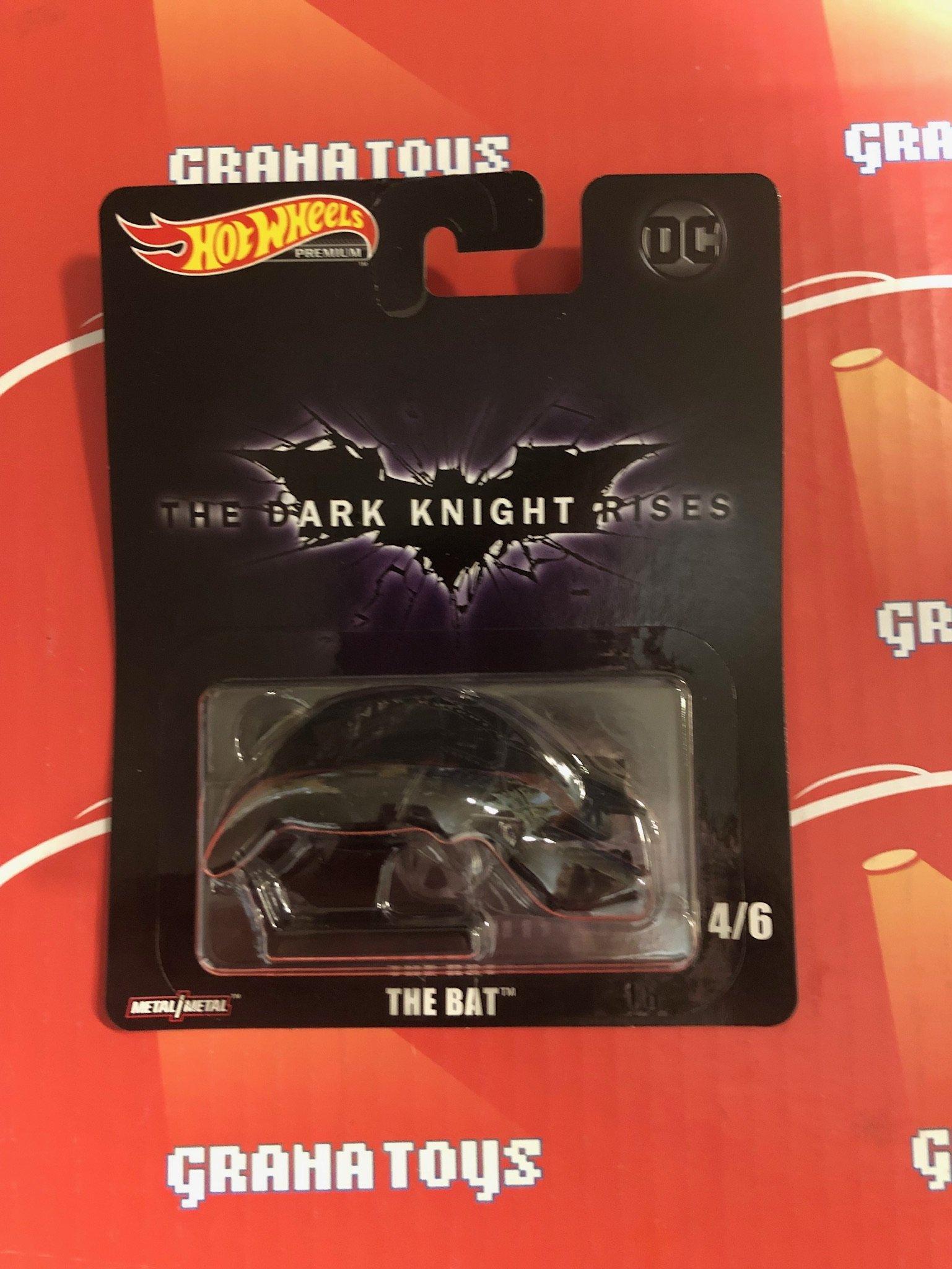 The Bat 2019 Hot Wheels Retro Entertainment Batman Case L