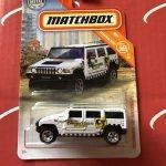 02 Hummer H2 SUV Concept 6/20 Construction 2019 Matchbox Case P