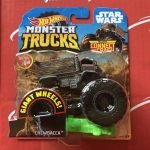 Chewbacca Star Wars 2019 Hot Wheels Monster Trucks Case M