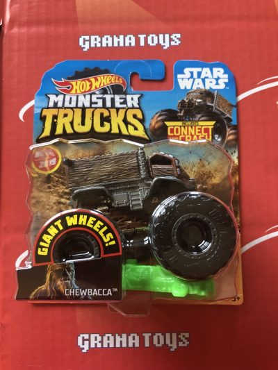 Chewbacca Star Wars 2019 Hot Wheels Monster Trucks Case M