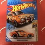 70 Ford Escort RS1600 #52 Orange Baja Blazers 5/10 2020 Hot Wheels Case C
