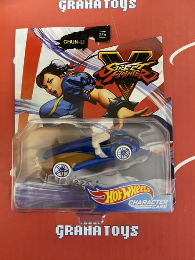 Chun-Li 2/5 2020 Hot Wheels Gaming Character Cars Street Fighter Mix A