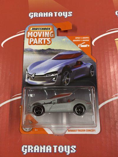 Renault Trezor Concept 2020 Matchbox Moving Parts Series Case B