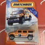 Hummer H2 SUV Concept Coastal 89/100 2020 Matchbox Case B