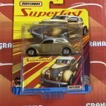 1936 Ford Sedan Custom 2020 Matchbox Superfast Mix E