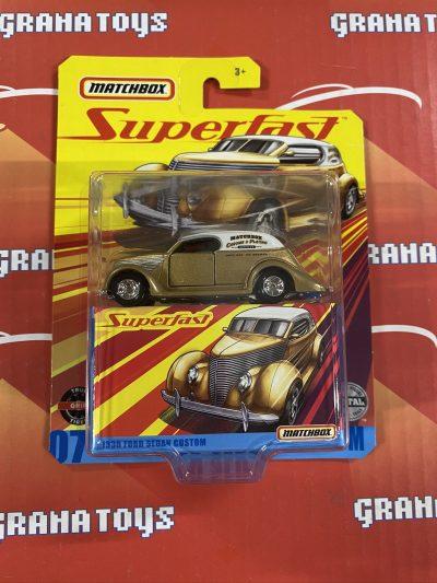 1936 Ford Sedan Custom 2020 Matchbox Superfast Mix E