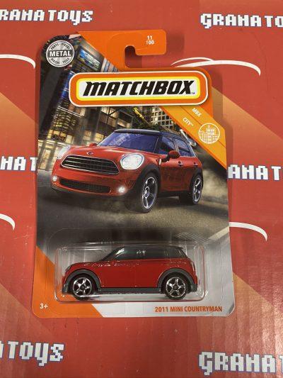 2011 Mini Countryman #11 City 2020 Matchbox Case D