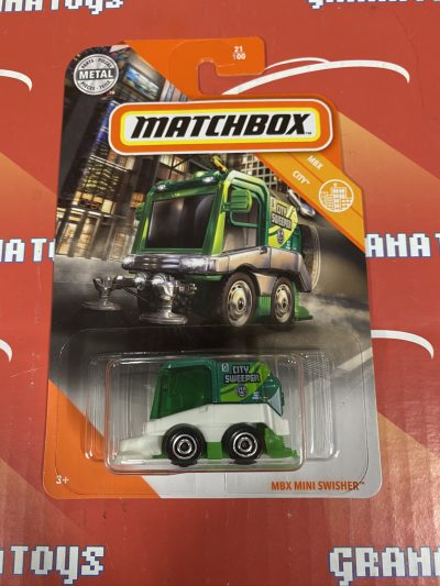 MBX Mini Swisher #21 City 2020 Matchbox Case D