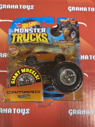 Camaro 14/75 2020 Hot Wheels Monster Trucks Case H