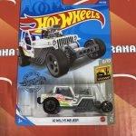 42 Willys MB Jeep #139 White Baja Blazers 6/10 2020 Hot Wheels Case L