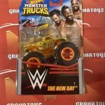 The New Day #7 2020 Hot Wheels WWE Monster Trucks Case E