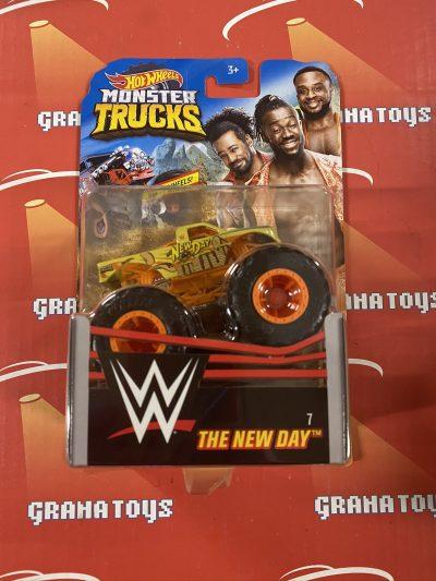 The New Day #7 2020 Hot Wheels WWE Monster Trucks Case E