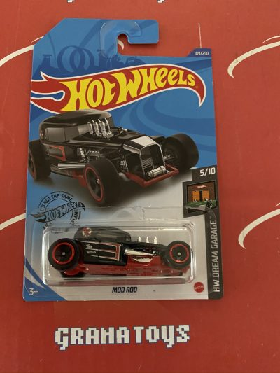 Mod Rod #109 Black 5/10 Dream Garage 2020 Hot Wheels Case M