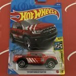 19 Ford Ranger Raptor #76 Red 3/10 Speed Graphics 2020 Hot Wheels Case M