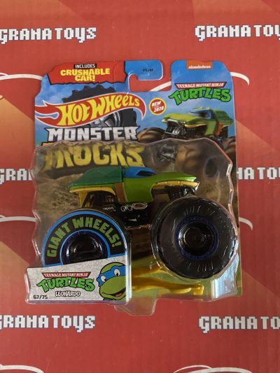 Leonardo TMNT 67/75 2020 Hot Wheels Monster Trucks Case K