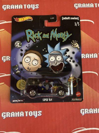 Super Van 3/5 2020 Rick and Morty Pop Culture Mix G