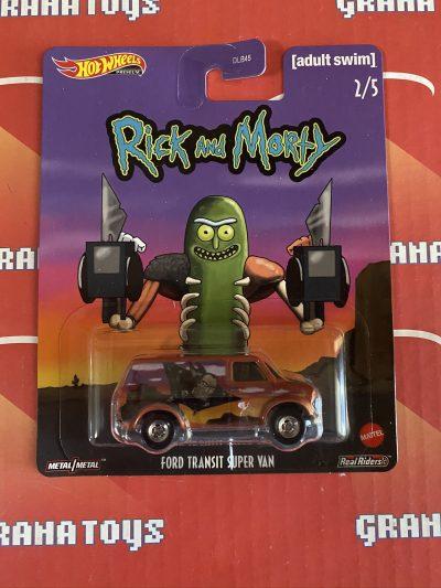 Ford Transit Super Van 2/5 2020 Rick and Morty Pop Culture Mix G