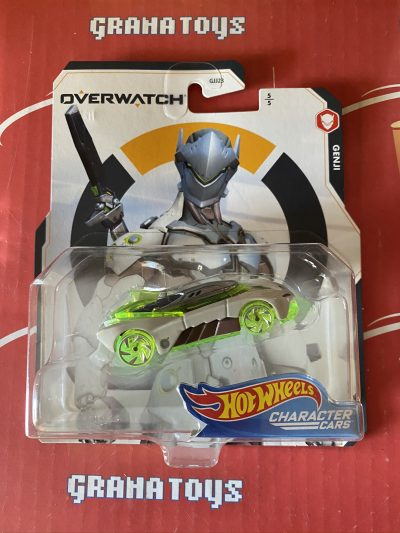 Genji 5/5 2020 Hot Wheels Gaming Character Cars Overwatch Mix D
