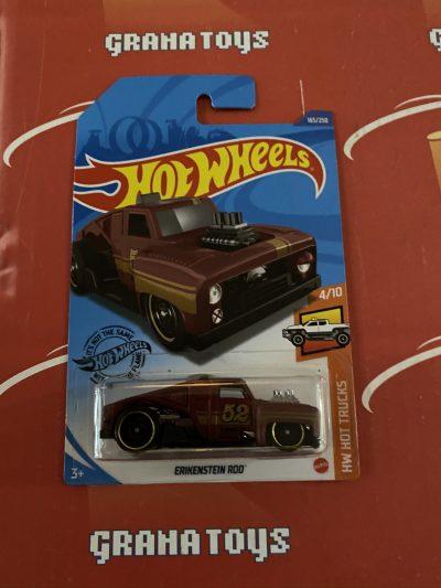 Erikenstein Rod #165 Red 4/10 Hot Trucks 2020 Hot Wheels Case P